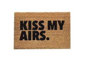 Kiss My Airs Mat 16x24 Nike Rug FREE US SHIPPING