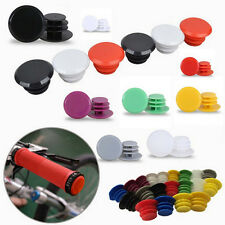 3Pair Bicycle Bike Handlebar Plastic End Plugs Bungs Caps End Plugs Cap Cover!Q