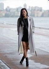 THE ROW NEW Olsen Black Tunic Mini Dress sz XS/Small EUC