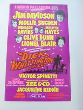 More details for jim davidson mollie sugden clive dunn london palladium pantomime poster 1980