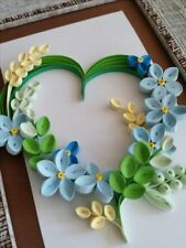 Quilled Cards In Handcrafted Greeting Cards Gift Tags Ebay