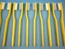 "50- IVORY WHITE TOOTHBRUSHES BULK LOT OF FIFTY  ""GREAT PRICE""  (FREE SHIPPING)"