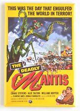 Deadly Mantis Fridge Magnet (2.5 x 3.5 inches) movie poster praying mantis