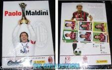 ALBUM CALCIO PANINI con 24 figurine PAOLO MALDINI (MILAN) una vita in rossonero