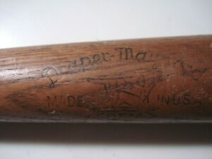 "Vintage...Draper..&..Maynard....""Lucky Dog""..Baseball..Bat....Charlie..Keller..."