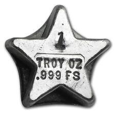1 oz Silver Star - Bison Bullion - SKU #80037