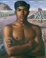 Mestizo Man : Candido Portinari : 1934: Archival Quality Art Print