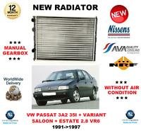 Para VW Passat 3A2 35I + Variant 2.8 VR6 1991- > 1997 Radiador Calidad OE