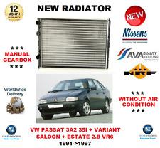 FOR VW PASSAT 3A2 35I + VARIANT 2.8 VR6 1991->1997 NEW RADIATOR ** OE QUALITY **