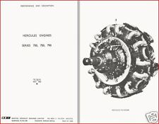 BRISTOL HERCULES Engine Technical Manual historic archive collectible 700 series