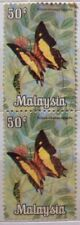 Malaysia Used Stamps -  2 pcs 1970 50c Butterfly