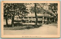 Postcard Allaire New Jersey De Lisle's Inn c1930s Posted Car B&W