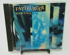 FATTBURGER: ONE OF A KIND MUSIC CD, 7 GREAT TRACKS, SIN-DROME RECORDS, GUC