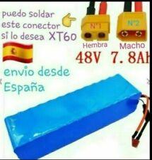 Bateria-48v para ebike bicicleta electrica 1000W (20A controlador por ejemplo)