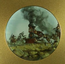 The West Of Frank McCarthy Attacking The Iron Horse Plate Train Hamilton Coll