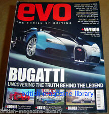 Evo Magazine Issue 78 - Bugatti Veyron