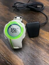 GARMIN Forerunner 210 GPS Enabled Sport Watch W/ Charger White & Green