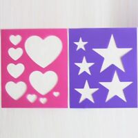 Elico Quartermarkers Packs of 2 hearts stars equestrian grooming horse pony