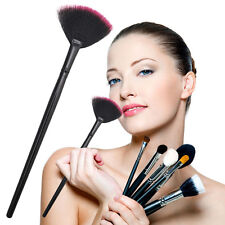Pro Fan Shape Makeup Cosmetic Brush Blending Highlighter Contour Face Powder New