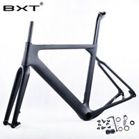 New 27.5er*2.1Full carbon fiber MTB Frame Road Bike 700C*40 Gravel Frames BB386