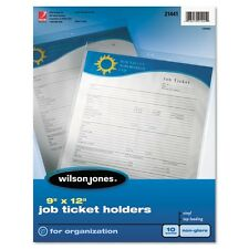 Wilson Jones Job Ticket Holder - 21441