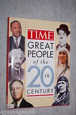 Time's Greatest People of the 20th Century by Time-Life Books Editors (1996, ...