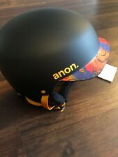 Anon Scout Bonez Ski Snowboard Helmet Youth Small 49-51 Cm Black