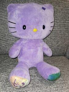 Hello Kitty Build A Bear Love Purple Cat Kitten
