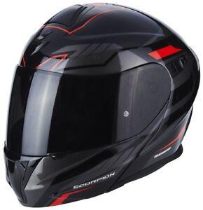 Scorpion Exo-920 Shuttle Flip up Helmet Motorcycle Helmet with Sun Visor