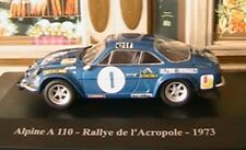 ALPINE RENAULT A110 RALLY ACROPOLE 1973 ELIGOR HELLAS