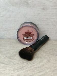 bareMinerals Blusher Exuberance + Mini Full Flawless Brush Set Travel Set