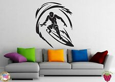 Wall Stickers Vinyl Decal Surfing Extreme Water Sports Wave Leisure z1013