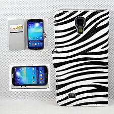 PU Leather Flip Phone Skin Wallet Cover Case For Samsung Galaxy S4 S IV i9500