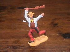 Timpo 4th Series Cowboy - Wounded - 1970's - Wild West