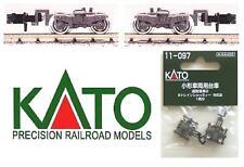 Kato 11-097 Couple Trolley - Pair Bogie Grey Ladder-N