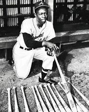 Atlanta Braves HENRY 'HANK' AARON Glossy 8x10 Photo Print Baseball Poster