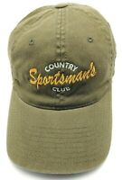 SPORTSMAN'S COUNTRY CLUB green flexfit fitted cap / hat golf  One Size  *NEW*