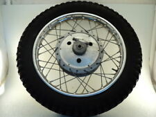 Matchless 650 G12 CSR AJS Model 31 #8514 Chrome Rear Wheel & Tire