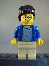 Lego Minifig ~ Harry Potter / Original Rare Blue Sweater/Jacket Classic #zs65
