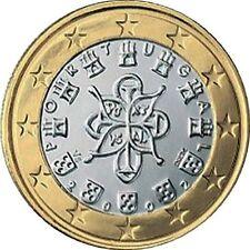 Pièces euros du Portugal pour 1 euro