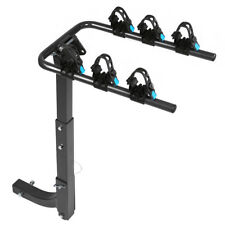 3- Bike 2'' Hitch Mount Rear Rack Foldable Car Carrier Truck Trailer Bicycle