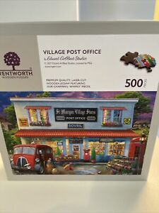 Wentworth Wooden Jigsaw Puzzle - Village Post Office (500 Wooden Pieces)