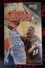 1999-2000 Topps Series 1 Basketball Jumbo [Factory Sealed,12 Packs/40 Cards] HTF