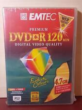 EMTEC - DVD+R - 4.7GB / 120 Min (4x) - NEW SEALED - (J25)