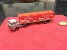Playart DAF Scania Truck & Flat Bed with Coca Cola Containers VGC