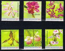 SINT MAARTEN ++ 2020 SERIE FLOWERS ORCHIDS BLOEMEN ORCHIDEEN  MNH NEUF **