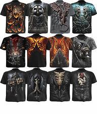 Spiral Direct Skull/Dragon/Reaper/Rock/Metal/Biker/Skeleton/Goth/T shirt/Top/Tee