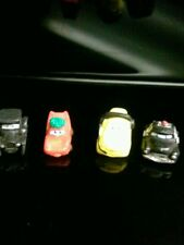 Squinkies Disney cars lizzie, lighting McQueen, Luigi,sheriff