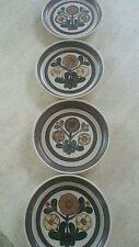 Vintage Denby Mayflower dessert plates set of 4 made in England