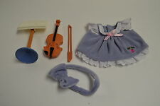 Fisher Price Briarberry Bear VIOLIN RECITAL Dress & Accessories Clothes